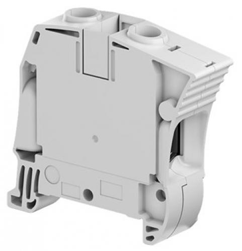 ZS35 grey screw clamp terminal block - feed through