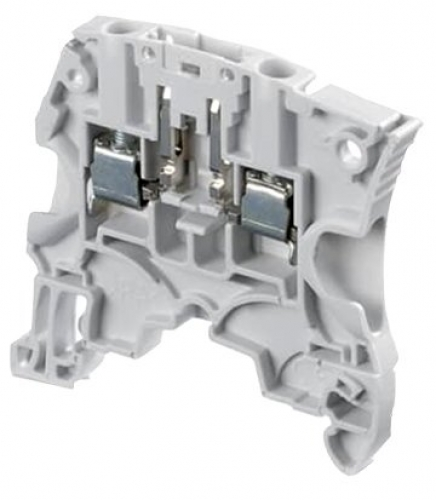 ZS4-D2 Grey Screw Clamp Terminal Block - double deck