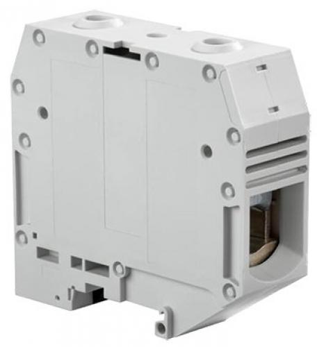 ZS95 screw clamp terminal block - feed through - grey
